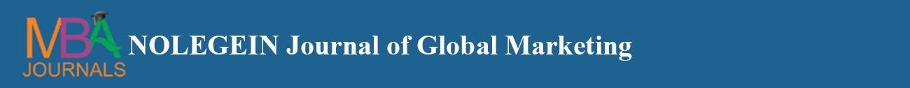 NOLEGEIN Journal of Global Marketing