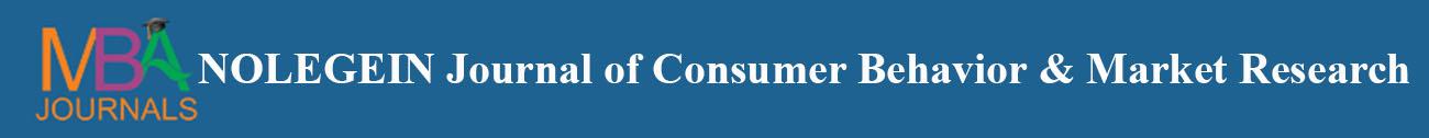 NOLEGEIN Journal of Consumer Behavior and Market Research
