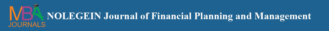 NOLEGEIN Journal of Financial Planning and Management