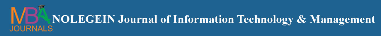 NOLEGEIN Journal of Information Technology and Management